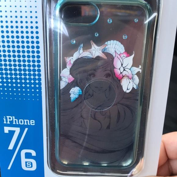 check out fe66b 5e5d6 Disney Little Mermaid phone case NWT